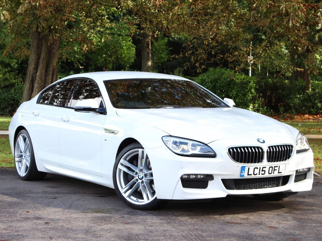 BMW bmw 6 gran coupe 2015 : 2015 BMW 6 Series 640d M Sport Gran Coupe £30,995