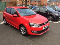 USED 2014 14 VOLKSWAGEN POLO 1.2 MATCH EDITION TDI 5d 74 BHP WITH AUXILLIARY INPUT/USB AND MEDIA - ALSO ALLOY WHEELS AND PARKING SENSORS!!..EXCELLENT FUEL ECONOMY!!..LOW CO2 EMISSIONS..£20 ROAD TAX...FULL VOLKSWAGEN SERVICE HISTORY..ONLY 4000 MILES FROM NEW!!