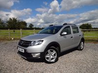 USED 2014 14 DACIA SANDERO 1.5 STEPWAY LAUREATE DCI 5d 90 BHP ** DEMO + 1 OWNER ** EXCELLENT SPECIFICATION **