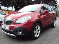 USED 2013 13 VAUXHALL MOKKA 1.7 EXCLUSIV CDTI S/S 5d 128 BHP 1OWNER FROM NEW+FSH+4 STAMPS+