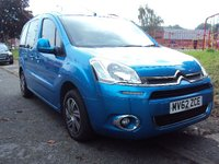 USED 2012 62 CITROEN BERLINGO MULTISPACE 1.6 HDI VTR 5d 91 BHP 1FORMER KEEPER+2KEYS+CD+PAS+