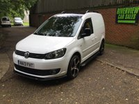 USED 2013 13 VOLKSWAGEN CADDY 1.6 C20 TDI R LINE STYLING HIGH SPEC R LINE  STYLING,  SHOWROOM CONDITION