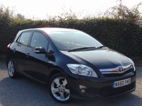 USED 2010 60 TOYOTA AURIS 1.8 T SPIRIT 5d AUTOMATIC * FULL SERVICE HISTORY * 12 MONTHS MOT BREAKDOWN COVER *