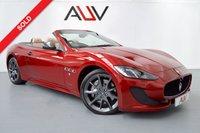 USED 2012 MASERATI GRANTURISMO 4.7 GRANCABRIO SPORT 2d AUTO 444 BHP