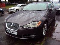 2008 JAGUAR XF 2.7 PREMIUM LUXURY V6 4d AUTO 204 BHP £6690.00
