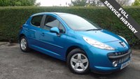 2008 PEUGEOT 207 1.4 SPORT 5d 94 BHP IDEAL FIRST CAR, FULL SERVICE HISTORY £2495.00