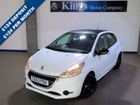 USED 2013 63 PEUGEOT 208 1.2 ACCESS PLUS 5dr £20 Road Tax, Great MPG,LOW INS, Carbon Fibre Black Roof & Wheels