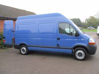 USED 2007 RENAULT MASTER MH35 MWB HIGH ROOF 100BHP DIRECT FROM THE NHS WITH HISTORY