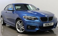 USED 2015 65 BMW 2 SERIES 2.0 220D M SPORT 2d 188 BHP