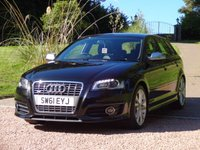 USED 2011 61 AUDI A3 2.0 S3 TFSI QUATTRO Technology 5d 261 BHP FULL AUDI SERVICE HISTORY + ONE OWNER FROM NEW
