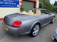 USED 2008 08 BENTLEY CONTINENTAL 6.0 GTC 2d AUTO 550 BHP SATELLITE NAVIGATION - DVD PLAYER