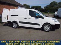 USED 2011 CITROEN BERLINGO 750LX LWB WITH 3 SEATS, AIR-CON & ELECTRIC PACK FROM THE RSPCA