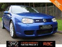 2003 VOLKSWAGEN GOLF 3.2 R32 5d 237 BHP £9000.00