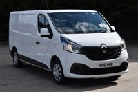 2016 RENAULT TRAFIC 1.6 LL29 BUSINESS PLUS DCI S/R P/V 5d 115 BHP LWB EURO 6 AIR CON DIESEL MANUAL VAN £11490.00