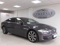 USED 2010 10 JAGUAR XJ 3.0 D V6 PREMIUM LUXURY LWB 4d AUTO 275 BHP Superb Spec & Full Jaguar History - Pan Roof, Nav, Leather