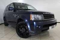 USED 2010 60 LAND ROVER RANGE ROVER SPORT 3.0 TDV6 HSE 5DR AUTOMATIC 245 BHP FULL SERVICE HISTORY + FRONT AND REAR HEATED LEATHER SEATS + SAT NAVIGATION + REVERSE CAMERA + CRUISE CONTROL + CLIMATE CONTROL + 19 INCH ALLOY WHELLS