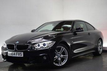 2014 BMW 4 SERIES 2.0 420D M SPORT [NAV/LEATHER] 2d AUTO 181 BHP £17690.00