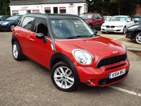 USED 2014 14 MINI COUNTRYMAN 2.0 COOPER SD 5d AUTO 141 BHP One Owner DIESEL AUTOMATIC !!