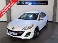 USED 2012 61 MAZDA 3 1.6 TS2 D 5dr  New Shape!, £30 Tax,  Stunning in Pearlescent WHITE