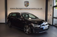 USED 2016 16 VOLKSWAGEN GOLF 2.0 GTD TDI DSG 5DR AUTO 182 BHP + FULL VW SERVICE HISTORY + SATELLITE NAVIGATION + BLUETOOTH + SPORT SEATS + CRUISE CONTROL + PARKING SENSORS + 18 INCH ALLOY WHEELS +
