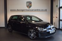 USED 2014 14 VOLKSWAGEN GOLF 2.0 GTD 5DR 181 BHP + FULL VW SERVICE HISTORY + 1 OWNER FROM NEW + HEATED SPORTS SEATS + BLUETOOTH  + CRUISE CONTROL + AUXILIARY PORT + HEATED MIRRORS + PARKING SENSORS + 18 INCH ALLOY WHEELS +
