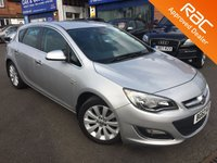 2012 VAUXHALL ASTRA 1.6 ELITE 5d AUTO 115 BHP £6250.00