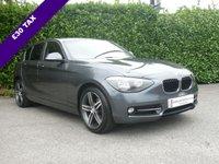 USED 2013 63 BMW 1 SERIES 2.0 116D SPORT 5d 115 BHP