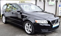 USED 2009 59 VOLVO V50 1.6 D DRIVE SE LUX 5d 109 BHP * FULL HISTORY - LOWER TAX GROUP *