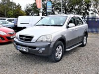USED 2004 04 KIA SORENTO 2.5 XE CRDI 5d AUTO  FINANCE AVAILABLE  4x4  AUTO