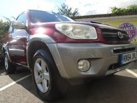 USED 2004 54 TOYOTA RAV4 2.0 XT3 D-4D 3d 114 BHP GUARANTEED TO BEAT ANY 'WE BUY ANY CAR' VALUATION ON YOUR PART EXCHANGE