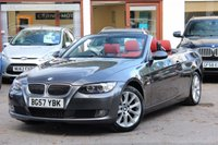 USED 2007 57 BMW 3 SERIES 325D 3.0D SE 2d Convertible 195 BHP FULL SERVICE HISTORY / FULL HEATED LEATHER / BLUETOOTH / IPOD / CRUISE