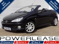 USED 2004 54 PEUGEOT 206 2.0 COUPE CABRIOLET SE 2d 135 BHP