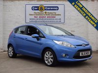 USED 2010 10 FORD FIESTA 1.4 ZETEC 16V 5d 96 BHP Comprehensive History A/C AUX 0% Deposit Finance Available