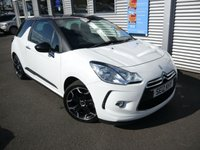 2012 CITROEN DS3 1.6 DSTYLE PLUS 3d  £5980.00