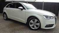 USED 2014 64 AUDI A3 2.0 TDI SPORT 5dr £20 per year tax!