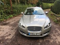 USED 2012 62 JAGUAR XF 2.2 TD Luxury 4dr 200 BHP 1 OWNER
