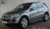 USED 2009 59 MERCEDES-BENZ M CLASS ML350 CDi BlueEFFICIENCY SPORT AUTO 224 BHP Finance? No deposit required and decision in minutes.