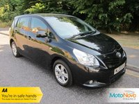 USED 2009 09 TOYOTA VERSO 2.0 TR D-4D 5d 125 BHP FANTASTIC VALUE LADY OWNED TOYOTA VERSO DIESEL WITH SEVEN SEATS, AIR CONDITIONING, ALLOY WHEELS AND SERVICE HISTORY.