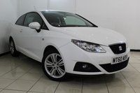 USED 2011 60 SEAT IBIZA 1.4 GOOD STUFF 3DR 85 BHP AIR CONDITIONING + CRUISE CONTROL + RADIO/CD + ELECTRIC WINDOWS + ELECTRIC MIRRORS