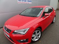 2013 SEAT LEON 2.0 TDI FR TECHNOLOGY 5d 150 BHP SAT NAV, BLUETOOTH LED LIGHTS £8995.00