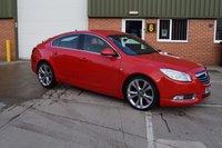2012 VAUXHALL INSIGNIA 2.0 SRI NAV VX-LINE RED CDTI ECOFLEX S/S 5d 157 BHP £5290.00