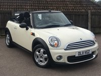 USED 2011 11 MINI CONVERTIBLE 1.6 ONE 2d 98 BHP