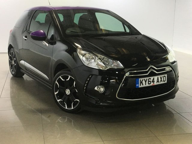 View our 2014 64 CITROEN DS3 1.6 DSTYLE PLUS 3d 120 BHP