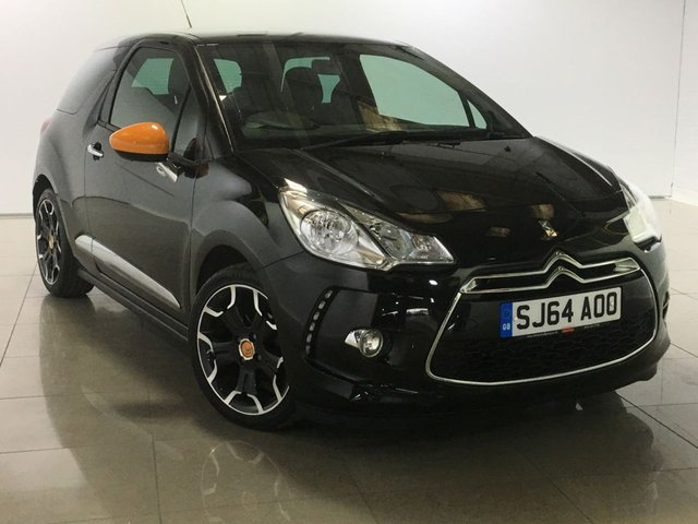 View our 2014 64 CITROEN DS3 1.2 DSIGN BY BENEFIT 3d 82 BHP