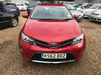USED 2013 62 TOYOTA AURIS 1.6 V-Matic Icon 5dr 1 OWNER SAT NAV FULL SERVICE