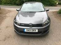 2011 VOLKSWAGEN GOLF 1.6 TDI BlueMotion Tech 5dr £6350.00