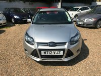 USED 2012 12 FORD FOCUS 1.6 Ti-VCT Zetec 5dr HPI CLEAR 2 KEYS