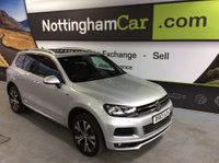 USED 2013 63 VOLKSWAGEN TOUAREG 3.0 TDI V6 R-Line Tiptronic 4x4 5dr (start/stop) *SAT NAV, LEATHER & PAN ROOF*
