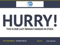 USED 2014 64 RENAULT KANGOO 1.5 ML19 DCI 1d 75 BHP
