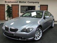 USED 2007 BMW 6 SERIES 4.8 650I SPORT 2d AUTO 363 BHP
